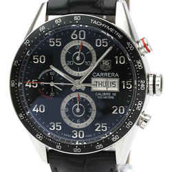 Polished TAG HEUER Carrera Calibre 16 Chronograph Day Date Watch CV2A10 BF532624