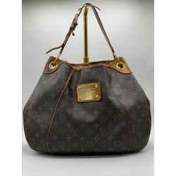 Louis Vuitton Galleria Pm Monogram Shoulder Tote Hobo Bag 15L x 4.5 W x 11H