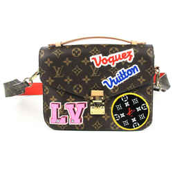 Louis Vuitton - Pochette Metis Patches Bag + Red Bandouliere Crossbody Strap
