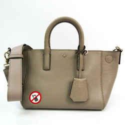 Anya Hindmarch Women's Leather Handbag,Shoulder Bag Grayish BF522615