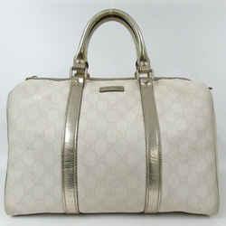 Gucci White Supreme GG Joy Boston 860482