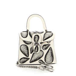 Brillant Charm Printed Leather