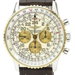 Polished BREITLING Navitimer Cosmonaute Hand-Winding Mens Watch D12022 BF523908