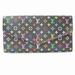 Auth Louis Vuitton Louis Vuitton Multi Portofeuil Sara Wallet Multicolor Pvc
