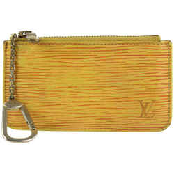 Louis Vuitton Rare Yellow Epi Leather Pochette Cles Key Pouch Keychain 25lvs1223