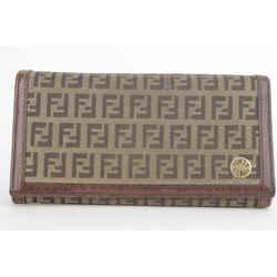 Fendi Monogram FF Flap Wallet 1FK1129