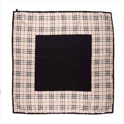 Burberry Square Nova Check Silk Scarf