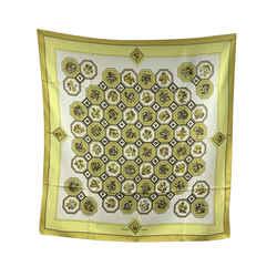 Hermes Vintage Silk Scarf Carrelages 1968 Maurice Tranchant