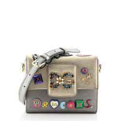 Millennials Shoulder Bag Embellished Leather Mini