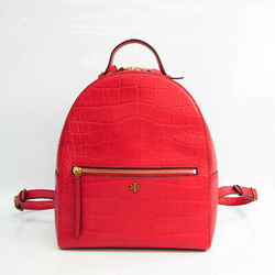 Tory Burch Women's Leather Backpack Red Color BF528308