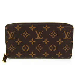 Louis Vuitton Monogram Zippy Wallet M60017 Unisex Monogram Long Wallet  BF527118