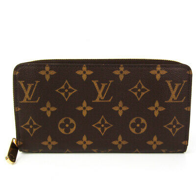 Louis Vuitton Monogram Zippy Wallet M60017 Unisex Monogram Long Wallet  BF527118
