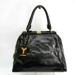 Yves Saint Laurent Major Rail Bag 197152 Women's Leather Handbag Black BF526363