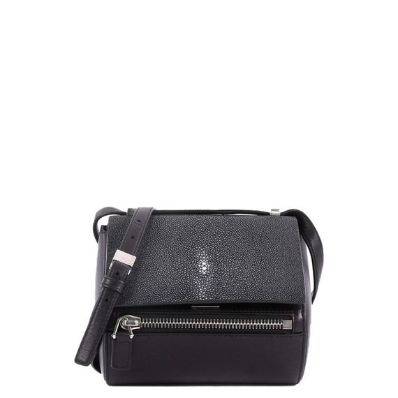 Chain Pandora Box Handbag Stingray Mini,