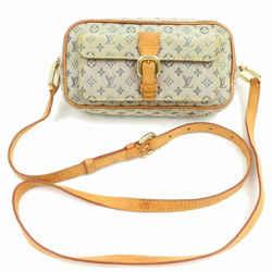 Louis Vuitton Khaki Olive Grey Monogram Mini Lin Juliette Crossbody Bag 859931