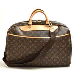 Vintage Louis Vuitton Alize 24 Heures Monogram Canvas Travel Bag + Strap LU436