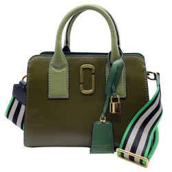 Marc Jacobs Little Big Shot Desert Mountain Leather Cross Body Bag