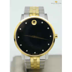 Movado 40mm Museum Two Tone Classic Watch  07.1.19.1462