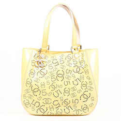 Chanel Bag N?5 Yellow Patent Leather CC Tote