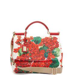 Dolce & Gabbana Sicily Soft Geranium Bag