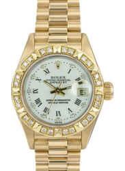 Rolex Lady Datejust 69178 Diamond Dial Diamond Bezel President Band