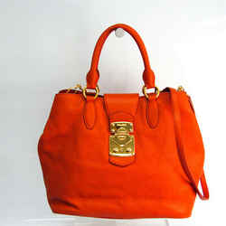 Miu Miu VITTELLO CARIBU RN0870 Women's Leather Handbag,Shoulder Bag Ora BF519591