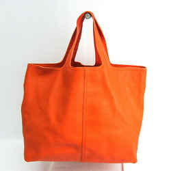 Bottega Veneta Large Tote 145166 Women's Leather Tote Bag Orange BF518028