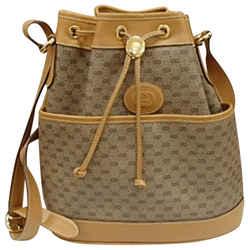 Gucci Mini Monogram GG Drawstring Bucket 215382