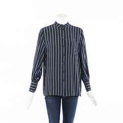 Co. Striped Silk Top SZ XS