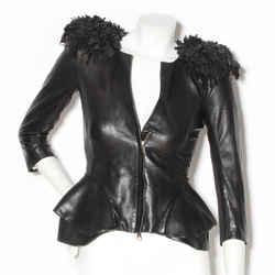McQueen Fringe Shoulder Jacket