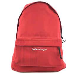 Balenciaga Explorer Backpack Red Nylon
