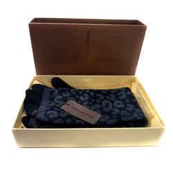 Louis Vuitton Gants Maille Leopard Gris Knit Mitten Gloves