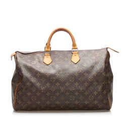 Brown Louis Vuitton Monogram Speedy 40 Bag