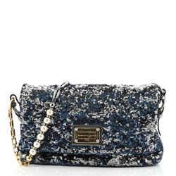 Miss Charles Flap Bag Sequins