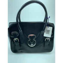 Ralph Lauren 872172 Black Leather The Ricky Bag