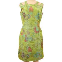OSCAR DE LA RENTA Silk Dress