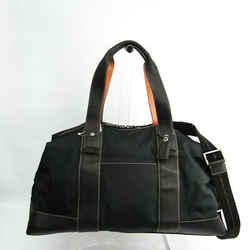 Coach Trans Jim F70424 Women's Leather,Nylon Boston Bag,Shoulder Bag Bl BF533490