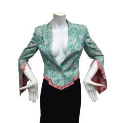 Avant-garde And Rare Vintage 1990's Antonio Berardi Linen Blend Blazer - Size 42 (Small)  - Like New