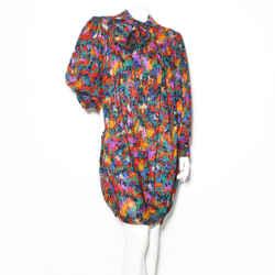 YSL Abstract Print Dress