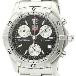 Polished TAG HEUER 2000 Classic Professional Chronograph Watch CK1110 BF519537