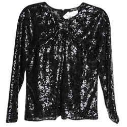 Chanel Black Classic Sequin - Size Xl (40) Top Size: 18 (XL, Plus 0x)