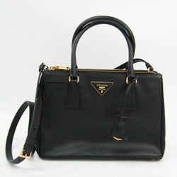 Prada 1BA863 Women's Saffiano Lux Handbag,Shoulder Bag Nero BF524161