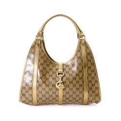 Gucci Gg Crystal Bardot Handbag