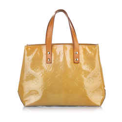 Brown Louis Vuitton Vernis Reade PM Bag