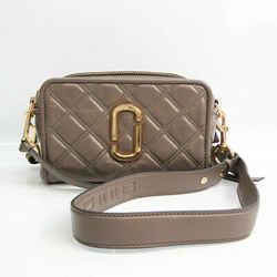 Marc Jacobs THE SOFTSHOT 21 M0015419 Women's Leather Shoulder Bag Grayi BF531935