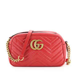 GG Marmont Shoulder Bag Matelasse Leather Small