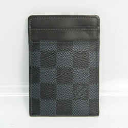 Louis Vuitton Damier Cobalt Porto Cult Pans N63217 Damier Canvas Card C BF530866
