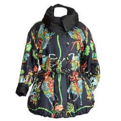 Hermes Jacket Vintage Les Fetes Du Roi Soleil Reversible 38 / 6 To 8