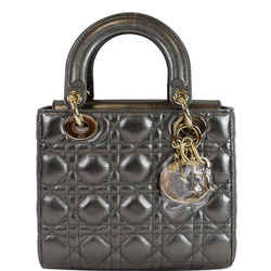 My Abcdior Grained Calfskin Shoulder Bag Gunmetal