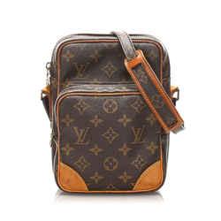 Vintage Authentic Louis Vuitton Brown Monogram Amazone France